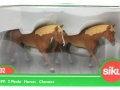 Siku 2491 - Zwei Pferde Karton vorne