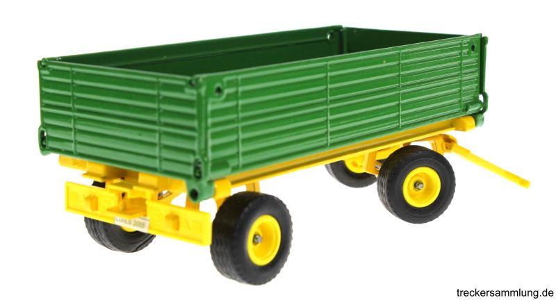 Siku 2551 - Zweiachs Anhäger grün hinten rechts
