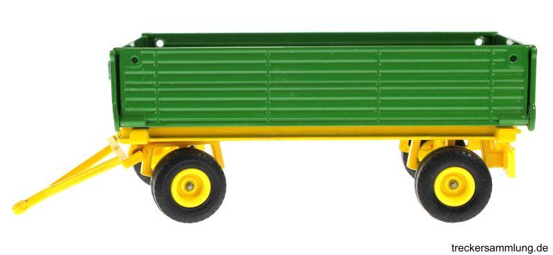 Siku 2551 - Zweiachs Anhäger grün links
