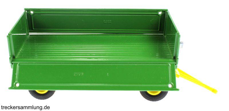 Siku 2551 - Zweiachs Anhäger grün rechts offen