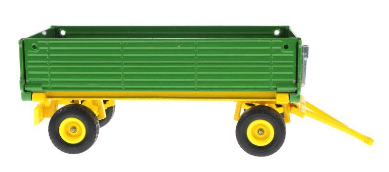 Siku 2551 - Zweiachs Anhäger grün