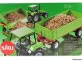 Siku 2551 - Zweiachs Anhäger grün Karton hinten
