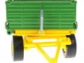 Siku 2551 - Zweiachs Anhäger grün vorne