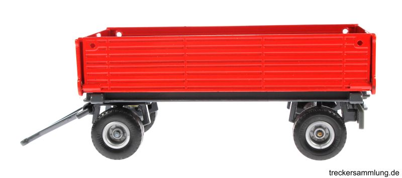 Siku 2551 - Zweiachs Anhäger rot