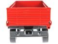 Siku 2551 - Zweiachs Anhäger rot hinten
