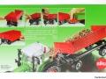 Siku 2551 - Zweiachs Anhäger rot Karton hinten