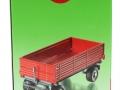 Siku 2551 - Zweiachs Anhäger rot Karton Seite