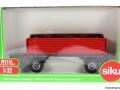 Siku 2551 - Zweiachs Anhäger rot Karton vorne