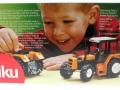 Siku 2856 - Renault-Traktor 145-14 TX Karton hinten