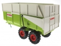 Siku 2866 - Claas Muldenkipper hinten links
