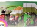 Siku 2866 - Claas Muldenkipper Karton hinten