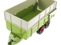 Siku 2866 - Claas Muldenkipper oben vorne links