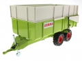 Siku 2866 - Claas Muldenkipper vorne links