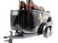 Siku 2870 - Pferdeanhänger unten vorne