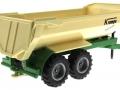 Siku 2871 - Halfpipe Muldenkipper Krampe grün-weiß hinten rechts