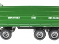 Siku 2877 - Dreiachs-Dreiseitenkipper Brantner DD24060 links