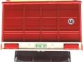 Siku 2878 - Heuladewagen Pöttinger Jumbo hinten nah