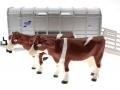 Siku 2890 - Ifor-Williams Viehanhänger zwei Kühe