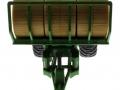 Siku 2891 - Rundballenanhänger vorne