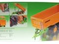 Siku 2892 - Dreiachs-Muldenkipper Joskin TRC150 Karton hinten