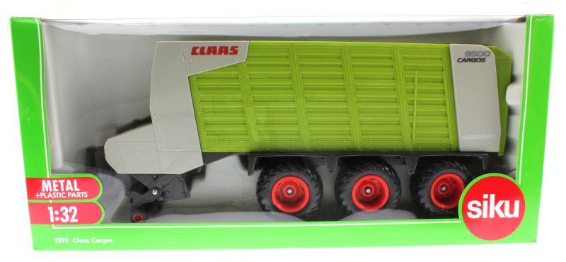 Siku 2893 - Claas Cargos 9500 Karton vorne