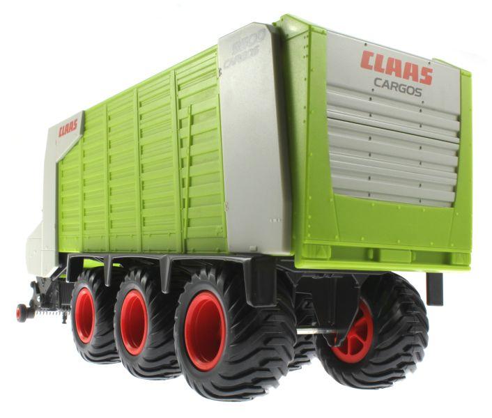 Siku 2893 - Claas Cargos 9500 unten hinten links