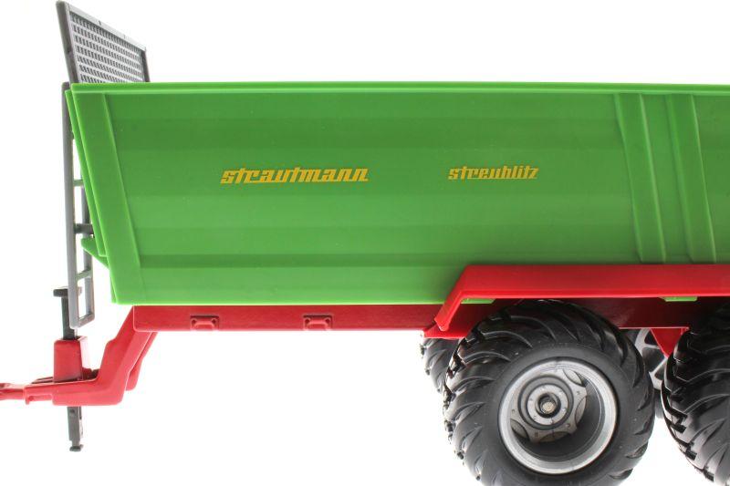 Siku 2894 - Strautmann Streublitz ES 340 Universalstreuer Logo