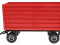 Siku 2898 - Zwei-Achs Anhänger links