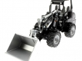 Siku 3059 - Weidemann Hoftrac Blackline vorne links