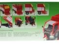 Siku 3061 - Lindner Unitrac mit Ladewagen Karton hinten
