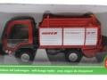 Siku 3061 - Lindner Unitrac mit Ladewagen Karton vorne