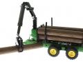 Siku 3155 - Forstanhänger mit Baumstamm