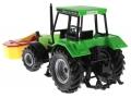 Siku 3156 - Traktor Deutz Fahr mit Frontmähwerk hinten links
