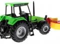 Siku 3156 - Traktor Deutz Fahr mit Frontmähwerk hinten rechts