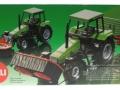 Siku 3156 - Traktor Deutz Fahr mit Frontmähwerk Karton hinten
