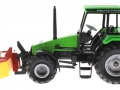 Siku 3156 - Traktor Deutz Fahr mit Frontmähwerk links