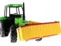 Siku 3156 - Traktor Deutz Fahr mit Frontmähwerk unten vorne rechts