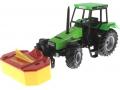 Siku 3156 - Traktor Deutz Fahr mit Frontmähwerk vorne links