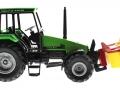 Siku 3156 - Traktor Deutz Fahr mit Frontmähwerk