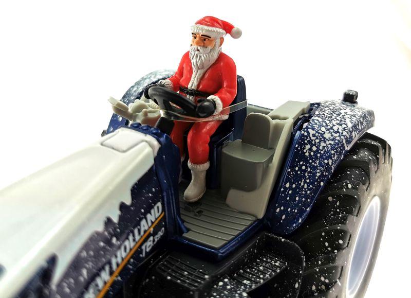 Siku 3220 - Weihnachtstraktor Weihnachtsmann