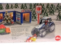 Siku 3220 - Weihnachtstraktor Karton hinten