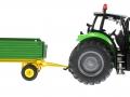 Siku 3266 - 2551 - Deutz Fahr Agrotron mit Zweiachs-Anhänger