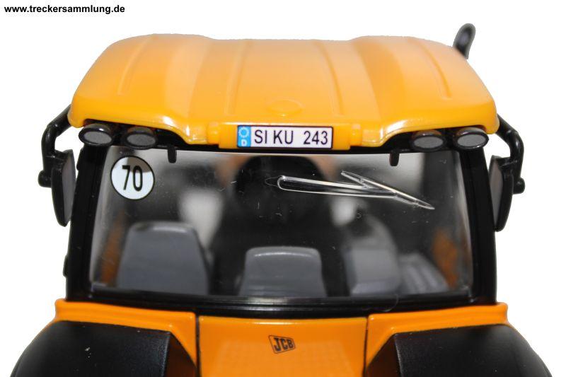 Siku 3267 JCB 8250 Kabine Heck