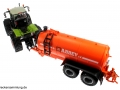 Siku 3271 und 2270 Class Xerion und Fasswagen Abbey Orange Hinten