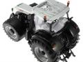 Siku 3283zlf - Steyr 6230 CVT Blackline ZLF 2016 oben hinten links