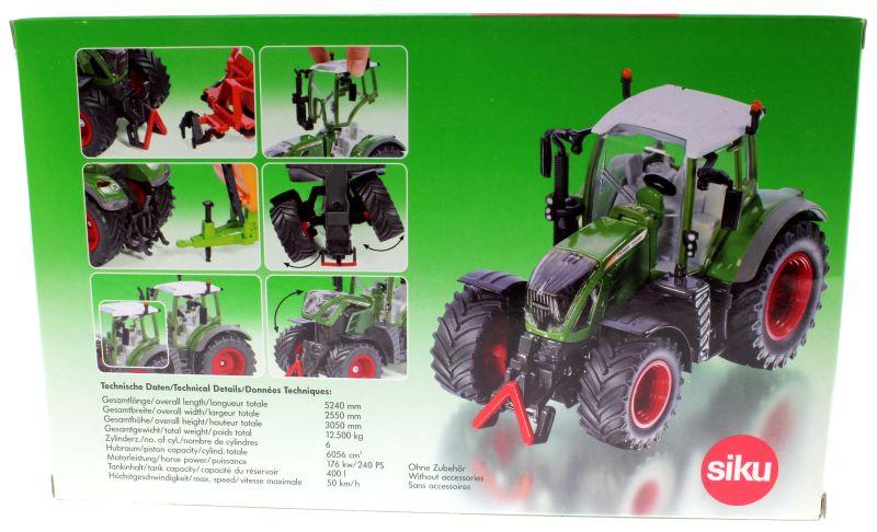 Siku 3285 Traktorado 2015 - Fendt 724 Vario Karton hinten