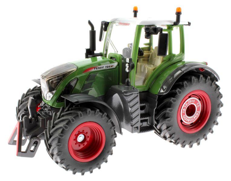 Siku 3285 Traktorado 2015 - Fendt 724 Vario vorne links
