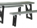 Siku 3450bl - Unimog 411 Blackline Agritechnica 2017 Tisch und Bank oben