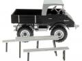 Siku 3450bl - Unimog 411 Blackline Agritechnica 2017