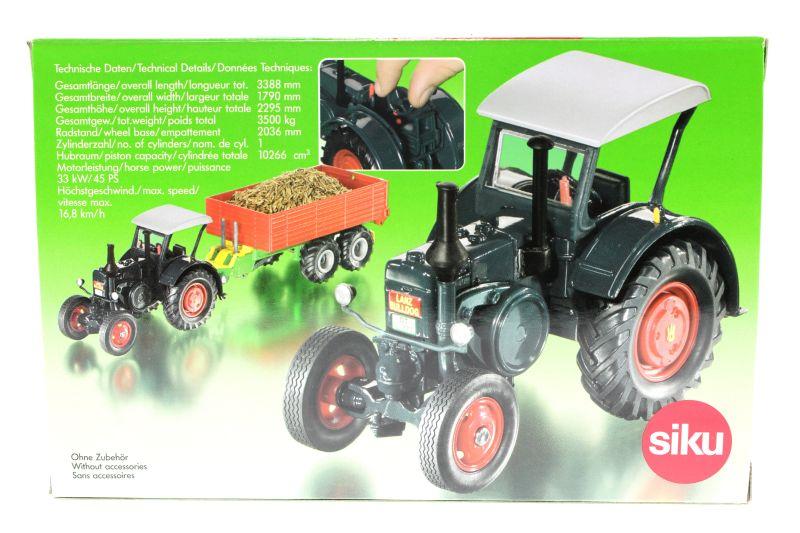 Siku 3459 - Lanz Bulldog Karton hinten